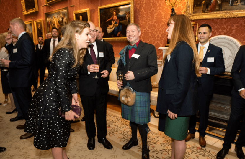 Kelly meeting with Princess Beatrice of York