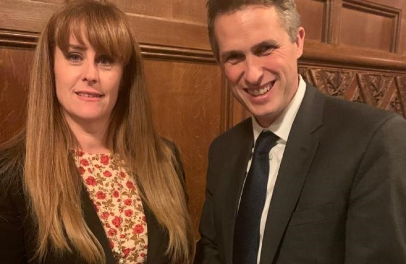 Kelly meeting with Education Secretary, Gavin Williamson
